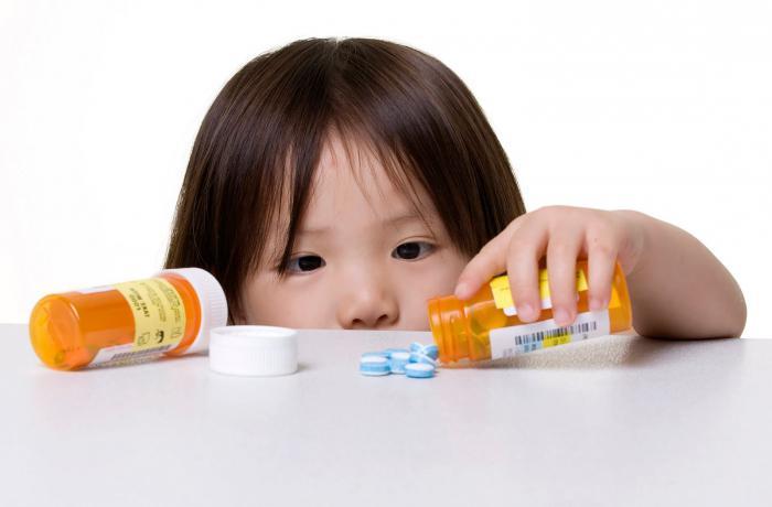 Антигистаминные препараты для детей при кашле