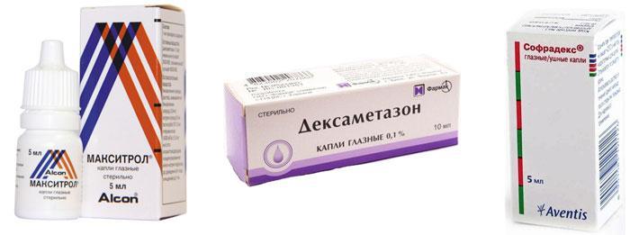 Антигистаминные препараты для глаз при аллергии
