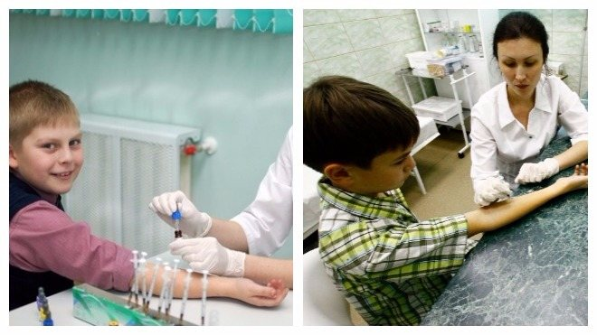 года сдавать аллергопробы детям