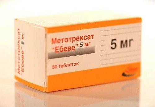 Как действует метотрексат при лечении псориаза