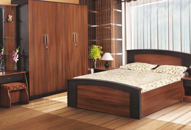 Мебель в спальне