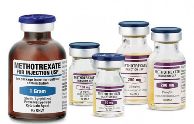 Метотрексат от псориаза: инструкция по применению и рекомендации