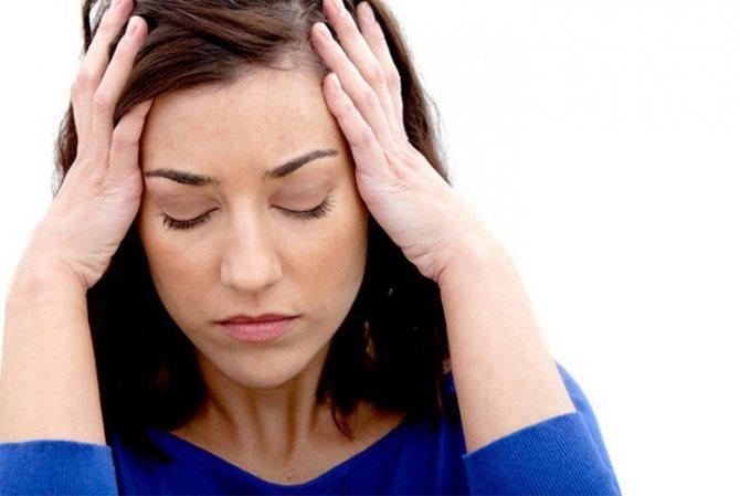 Проявление аллергии со стороны нервной системы