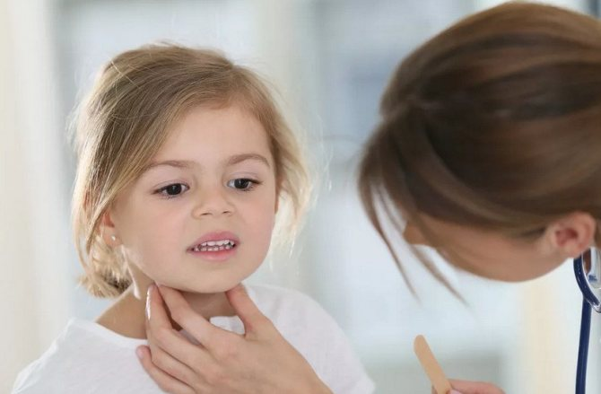 Спазм гортани у ребёнка