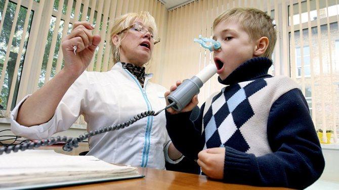 В аллерго-респираторном отделении Клинико-диагностического центра