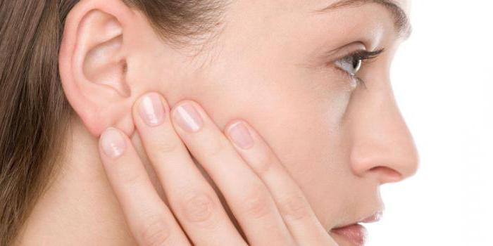 заложенность уха без боли причины